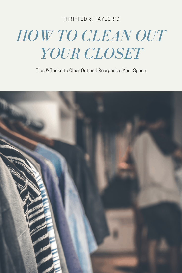 Closet organization and clean up tips & tricks | #closetorganization #closets #organization