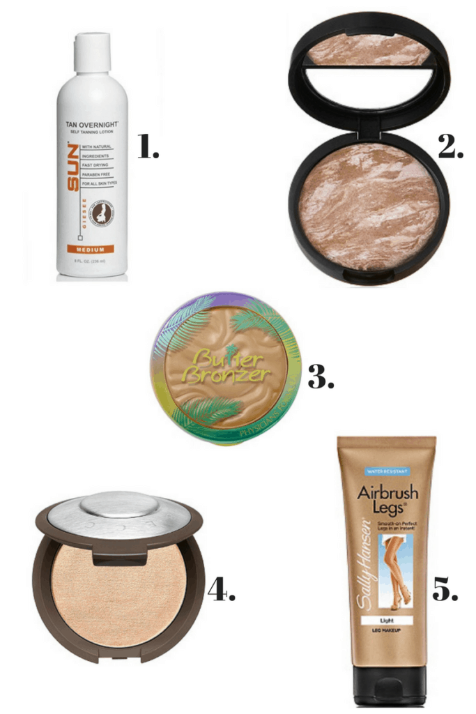 5 great products to keep that summer glow | Thrifted & Taylor'd | www.thriftedandtaylord.com