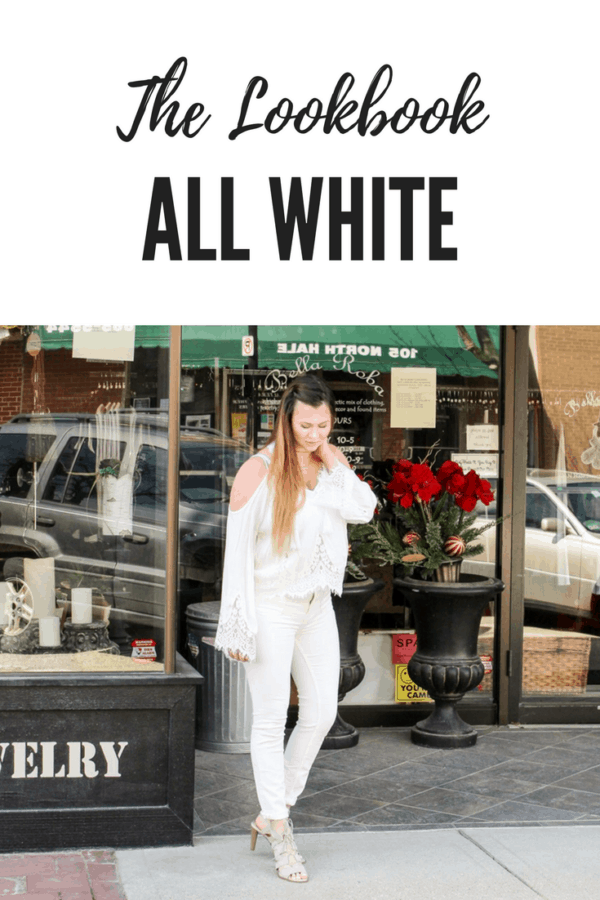 The Lookbook | All White | Hhow to wear all white | Thrifted & Taylor'd