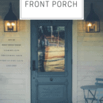 Perfect Decor for a Farmhouse Front Porch | Thrifted & Taylor'd