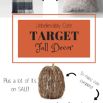 Target Fall Decor | Thrifted & Taylor'd