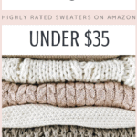 10 Highly Rated Sweaters on Amazon Under $35 | Thrifted & Taylor'd | #sweaters #fall # fallfashion #bargainshopping