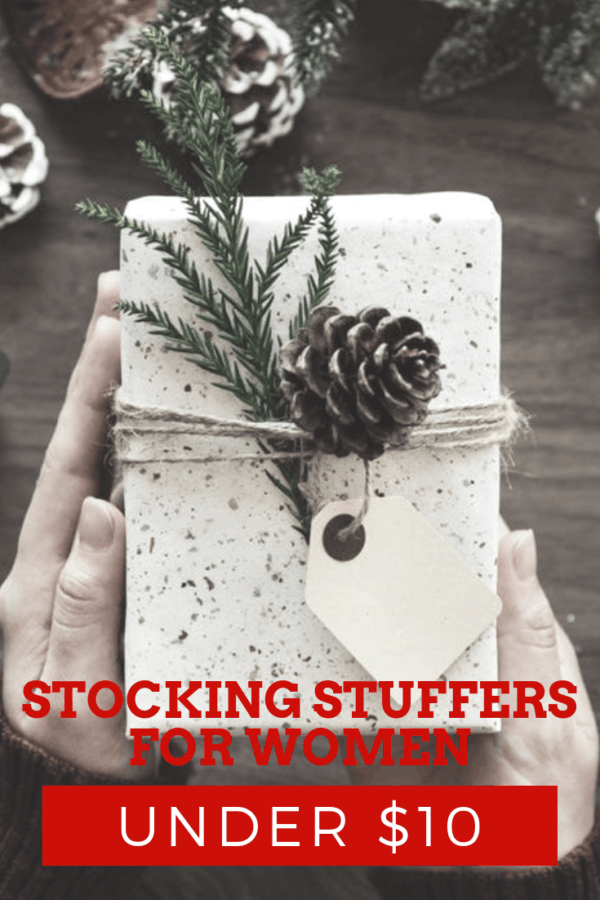 Stocking Stuffers for Women Under $10 | Thrifted & Taylor'd | #giftguide #giftsforher #stockingstuffers #stockingstuffersforher #giftideas