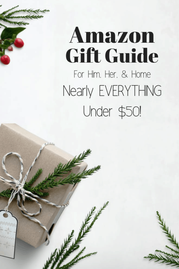 Amazon Gift Guide | For Him, Her, and Home | Thrifted & Taylor'd | #giftguide #gifts #giftideas #holidaygifts #christmasgifts #giftsforhim #giftsforher #giftsforhome