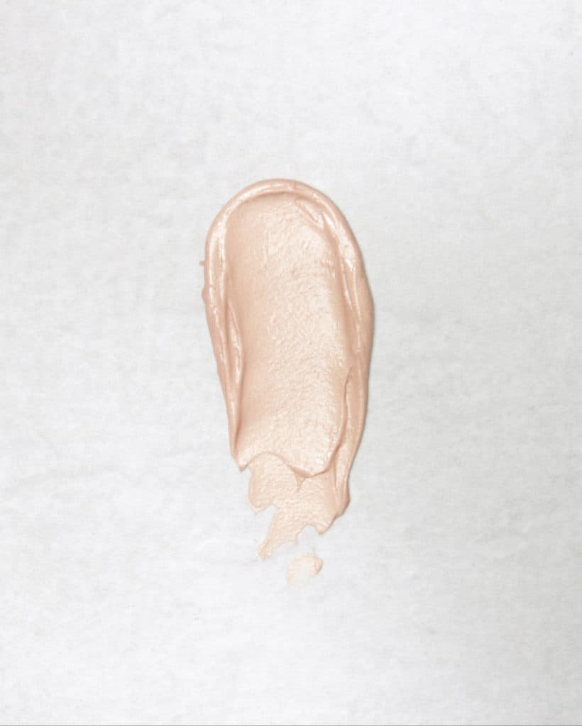 The Organic Skin Co. Review | Their Primp N' Prime face primer in the shade Rose Gold.