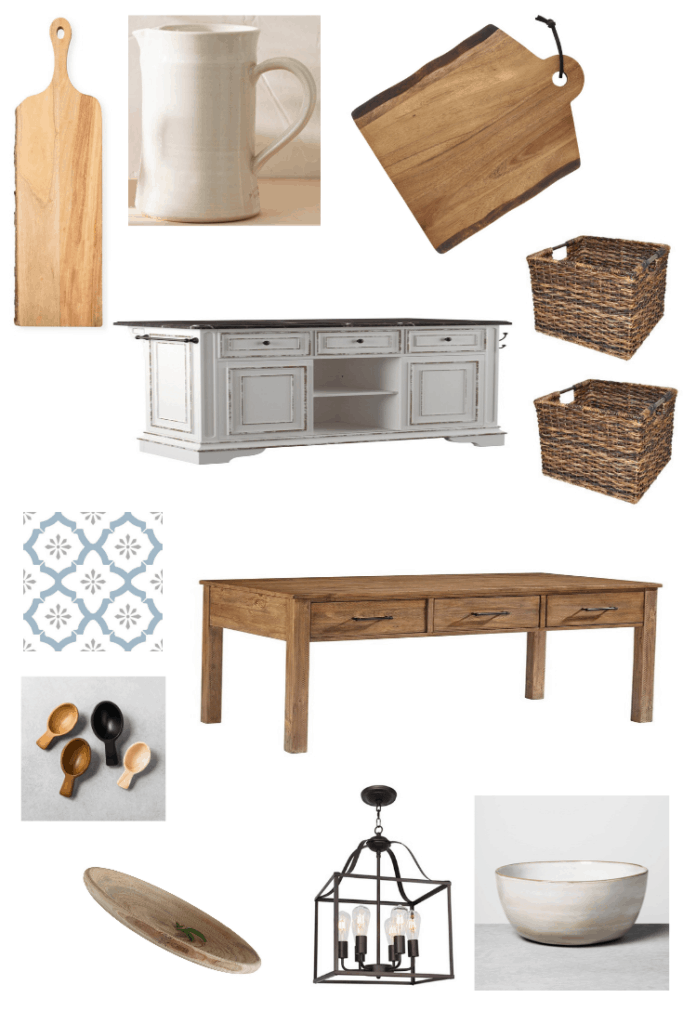 These accessories are all you need to get an old Italian and traditional fixer upper kitchen with a touch of farmhouse and Moroccan flair. See what else you can do to get this look in your kitchen.