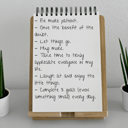 With a new year comes a fresh start. A chance to make new goals and take sight of who you want to be this year and moving forward. Here are some of my own goals for this new year.
