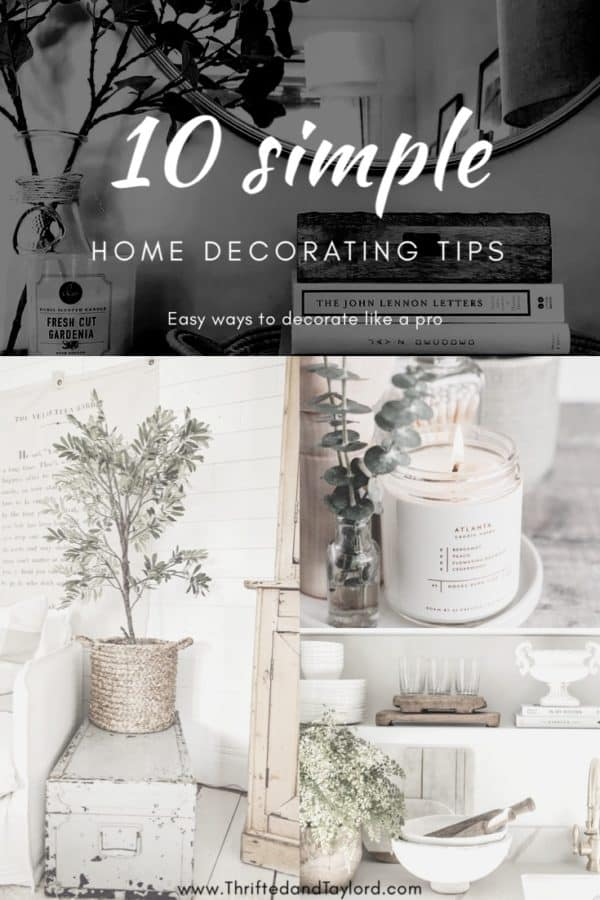 These simple home decorating tips are all you need to have you decorating like an interior designer.