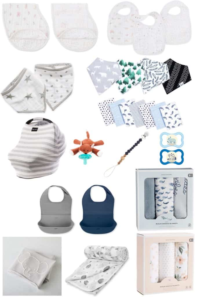 If you are in need of some baby shower gifts that are both practical and adorable, check out this big list with plenty of things to choose from.