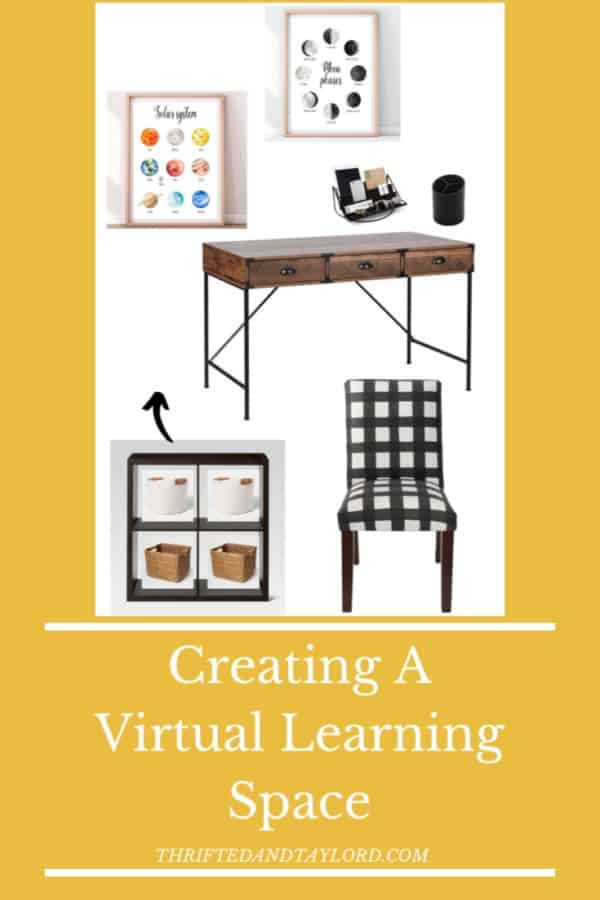 With virtual learning becoming a reality for many families this year, there comes a good amount of stress about how this will be able to work. Creating a virtual learning space in your home will help alleviate some of that stress by giving your children a dedicated, quiet place to learn. Check out some great inspiration as well as 3 different space designs to figure out what will work best in your own home.