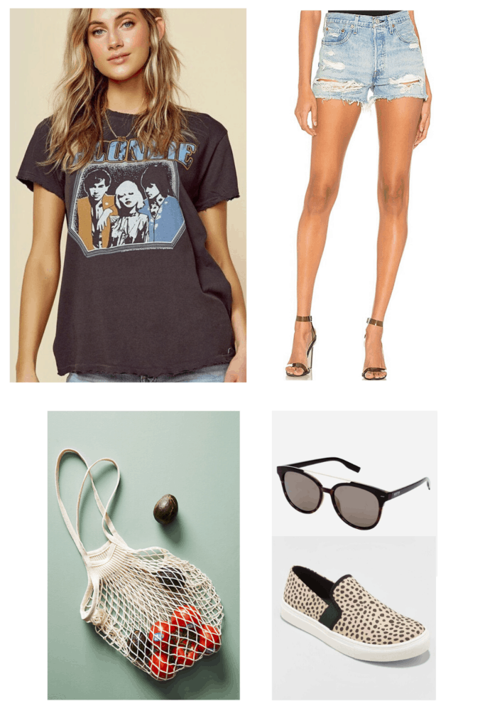 In need of some outfits for hot summer days? See where to get this look plus 6 other outfits ranging from casual to dressed up with somewhere to go!