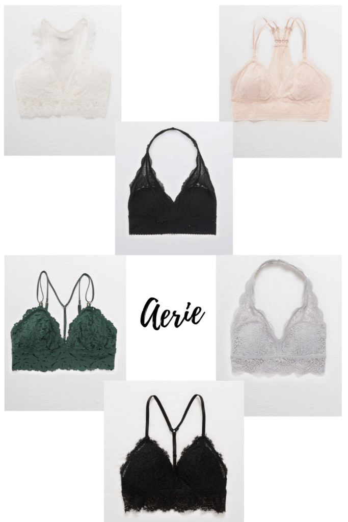 Are you a fellow bralette lover? Or maybe you've been curious about what all the hype is? I am here to tell you, they are the best thing that's ever happened to my boobs. Check out these comfortable and pretty bralettes from 3 of my favorite stores and try some out for yourself!
