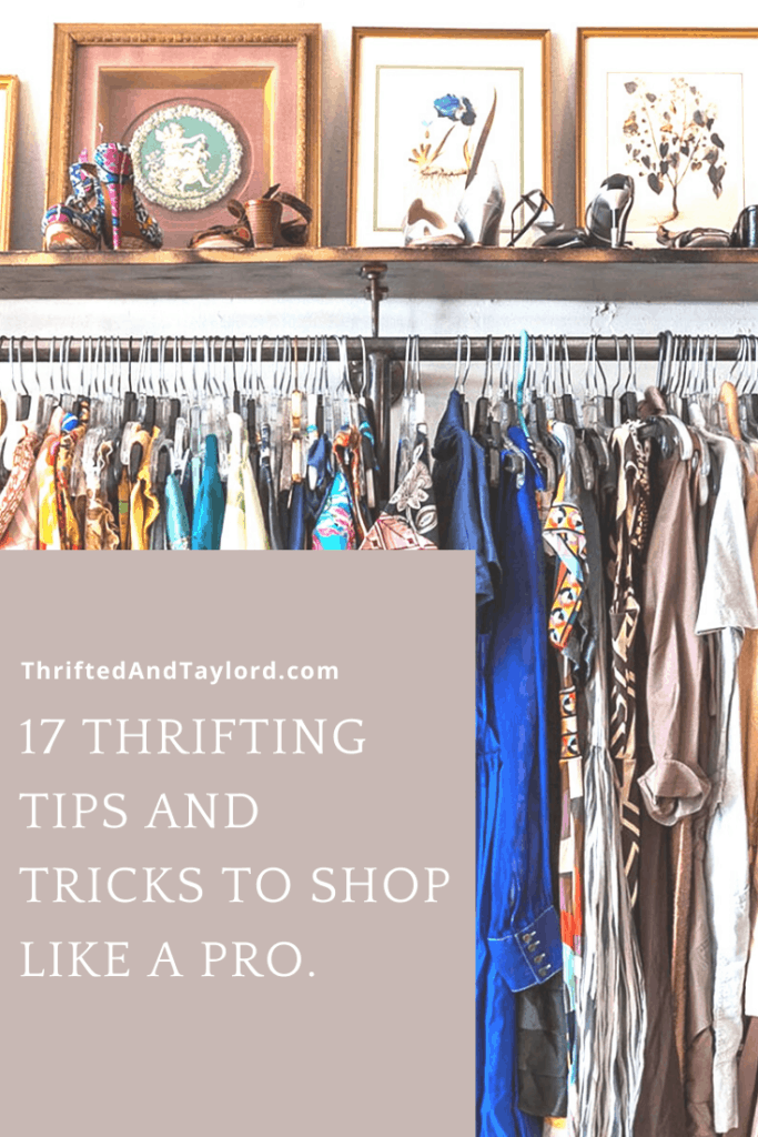 So many great thrifting tips and tricks that will have you thrift shopping like a pro.